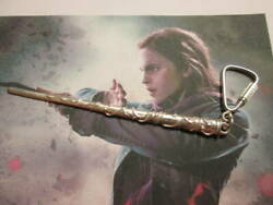 Harry Potter Magic Wand Of Hermione Pendant Made Sterling Silver 925- Handicraft