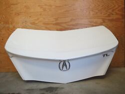 ✅ 09-14 Acura Tl Trunk Lid Rear Deck Assembly W Spoiler And Rear View Camera Oem