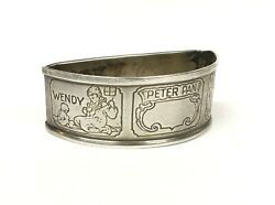 Early 20th Century Webster Company Sterling Silver Peter Pan Napkin Ring