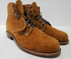 NEW Wolverine Mens 7D 1000 Mile Camel Suede Boots Made in USA  $200.00