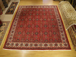 10.4 X 12.5 Handmade 1970s Anatolian Seneh Rug _soft Wool _ Excellent Condition