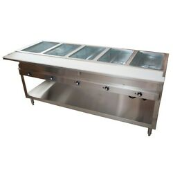 Bk Resources Ste-5-120 Steam Table Electric 72-3/8w X 30-1/2d X 34h