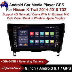 """9"""" Android 10.1 Car Stereo Non-dvd Gps Radio Head Unit For Nissan X-trail T32"""