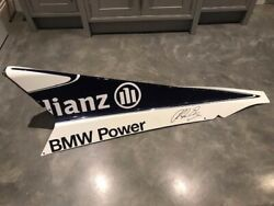 Williams F1 Engine Cover With Certificate Of Authenticity