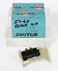 1957 1958 1958 1959 1960 Buick Backup Switch P/n 1175019 Gr. 2.698 Nos