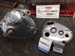 Norton Gearbox Outer Cover Seal Installation