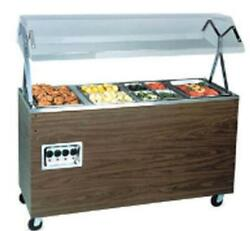 Vollrath T389452 4 Well Hot Food Steam Table Mobile W/ Solid Base 208-240v