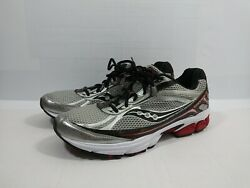 Saucony Grid Ignition 3 Size 12 Red Gray White Running Shoes 25121-11