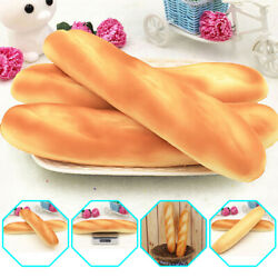 Artificial Fake French Baguette Bread Kitchen Festival Props Kids Toy PU Foam $3.85