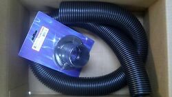 3 Feet Of 2 Rigging Hose 1262000b Plus Flange Rf1dp Outboard Black Motor Parts