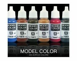 Vallejo Model Color And Liquid Gold Acrylic Paint 17 Ml - Many To Choose From