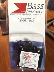 Bass Products 10 Amp A Series Marine Breaker