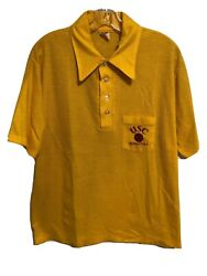 Usc Boosters Basketball Vintage Collegiate Pacific Polo Shirt Southern Cal Large