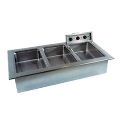 Delfield N8768nd 68 Electric Narrow Drop-in Hot Food Well Unit
