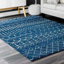 Nuloom Moroccan Blythe Accent Rug 2and039 X 3and039 Blue