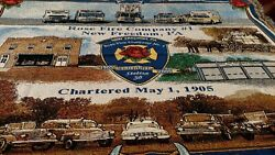 New Freedom Pa. Rose Fire Company Centennial Blanket