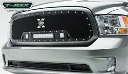 T-rex Grille Grills 6314581 Torch Series Led Light Grille Grill Fits 13-17 1500