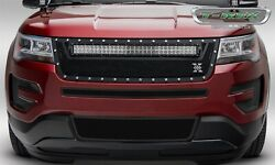 T-rex Grille Grills 6316641 Torch Series Led Light Grille Grill Fits 16 Explorer