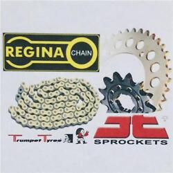 Yamaha Dt200 Wp Wr 90 Regina Chain O Anello 520 Jt Sprocket Set 13 42