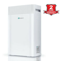 Puremateandreg 5-in-1 Air Purifier With True Hepa Filter Carbon And Negative Ions