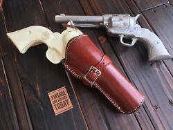 Vintage Alfonsos Brown Leather Sa Revolver Holster For Ruger Colt Sa Army 5.5