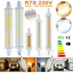 1-4x Led Flood Light R7s 78mm 118mm 135mm Bulb 2835 Smd Replacement Halogen Lamp