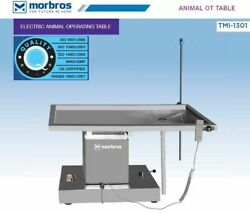 Veterinary Operating Table Model Tmi 1301 Electric Lift Up And Down @