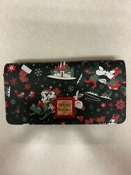 Dooney And Bourke Disney Woodland Winter Christmas Mickey Tote And Wallet