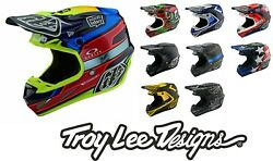 Troy Lee Designs Se4 Carbon 2021 Tld Mips 1100g Light Motocross Mx Helmets
