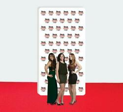 Step And Repeat Fabric Wall Box Display 8and039 X 15and039 Tradeshow Advertising Display