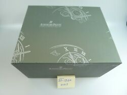 Audemars Piguet Brown Leather Oval Millenary Watch Box, With Instruction Book