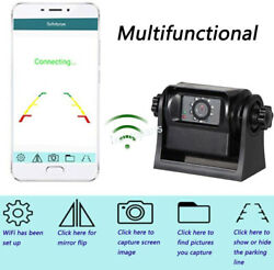 Wireless Wifi Magnetic Trailer Hitch Backup Camera Trailer Magnetic Base Truck