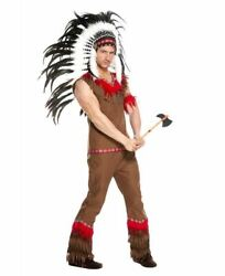 Music Legs Costume Menand039s Native American Costume 76623 Size Xl