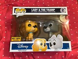Lady And The Tramp Funko Pop Hot Topic Exclusive