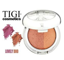 TIGI Cosmetic For Woman Blush quot;Lovely Duoquot; 0.071 Oz MS 64047 Natural Glow NWB $7.85