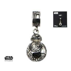 Star Wars 925 Sterling Silver Episode 7 Bb-8 Lead Hero Droid Dangle Charm