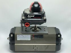 New Flowserve Sna125d Actuator 150psig With Accord Ultraswitch Anxi-21000