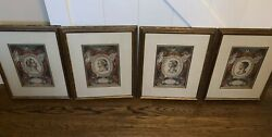4 W. King Ambler Old Maps And Prints Domenico De Rossi Mythological Pictures
