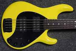 Ernie Ball Music Man Stingray 5 Hh Special Hd Yellow With Rosewood