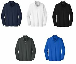 Nike Long Sleeve Dri-fit Stretch Tech Polo Mens Victory - Choose Size And Color