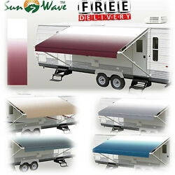 Rv Camper Trailer Awning Replacement Patio Protection Shade Weather Resistant