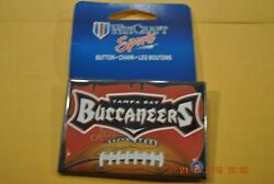 Tampa Bay Buccaneer - N.f.l. Football - 2 X 3 Square Button - Choose Your Team