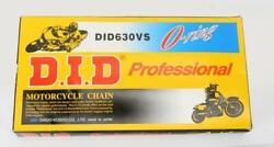 D.i.d. 630 V Professional O-ring Series Chain 50 Feet Natural