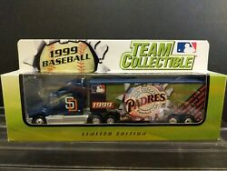 White Rose San Diego Padres Tractor Trailer 1999 Team Collectables Diecast