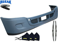 Freightliner Cascadia 08-17 Complete Assembly Bumper With No Foglight Hole +logo