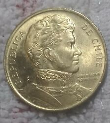 💰 1 Gold Peso Coin S Mint 1989 Republica De Chile Great Shape Look And Judge 89