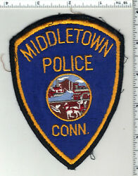 Middletown Police Connecticut 3rd Issue Uniform Take-off Shoulder Patch
