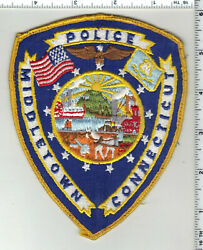 Middletown Police Connecticut 2nd Issue Uniform Take-off Shoulder Patch