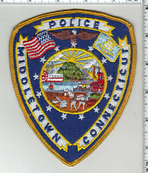 Middletown Police Connecticut 1st Issue Uniform Take-off Shoulder Patch