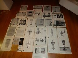 Vintage Schaff Piano Supply Company Lighting Parts Accessories Order Pages Wow